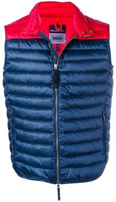 Parajumpers contrast padded gilet