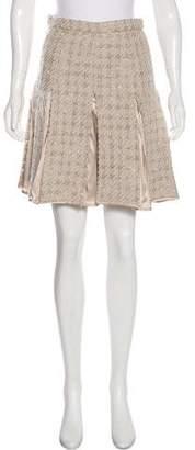 Blumarine Pleated Knee-Length Skirt