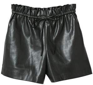 MANGO High-waist shorts