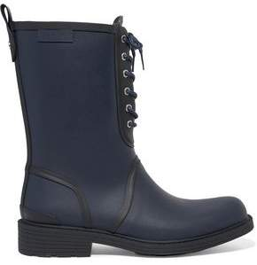 Rag & Bone Ansel Lace-Up Rubber Rain Boots