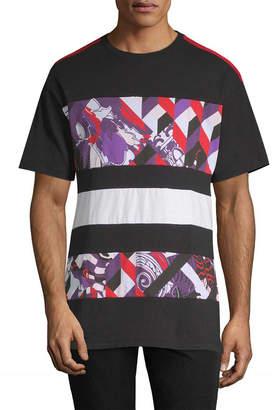 Versace Paneled Graphic T-Shirt