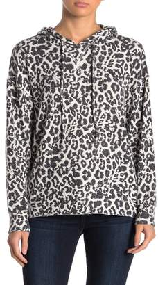 LnA Brushed Leopard Hoodie