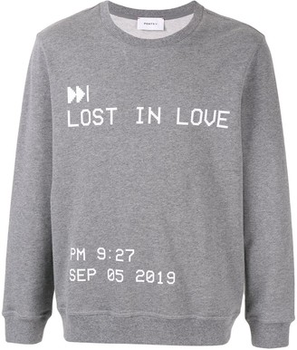 Ports V Lost in Love sweatshirt