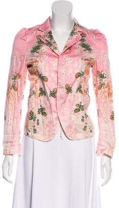 Zucca Floral Casual Jacket