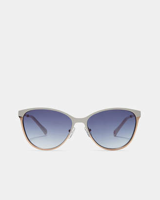 Ted Baker MIILA Colour-block metal sunglasses