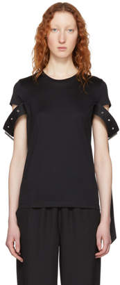 Marques Almeida Black Belt Sleeve T-Shirt