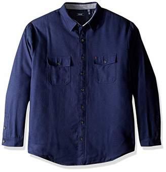 Izod Men's Tall BT LS Shirt Jacket