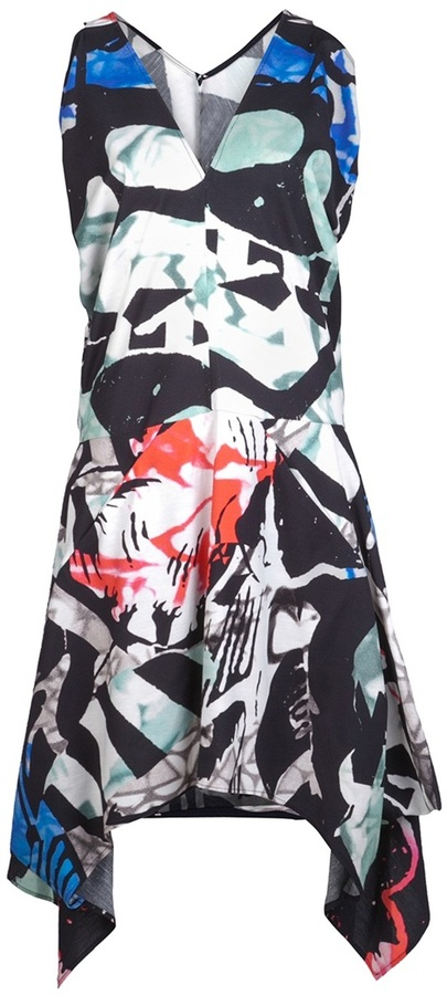 Zero Maria Cornejo Sleeveless print dress
