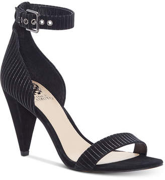 Vince Camuto Cashane Cone-Heel Dress Sandals Women's Shoes