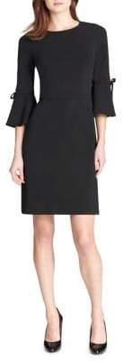 Tommy Hilfiger Bow Bell-Sleeve A-Line Dress
