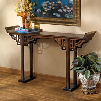 Toscano Design Forbidden City Asian Console Table