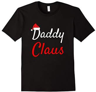 Mens Daddy Claus Shirt- Mama Claus Baby Claus Daddy Claus Pajamas