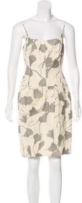 Narciso Rodriguez Fil-Coupé Printed Mini Dress