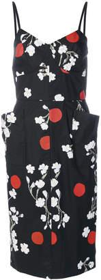 Isa Arfen floral print dress