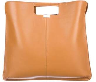 Rochas Smooth Leather Satchel
