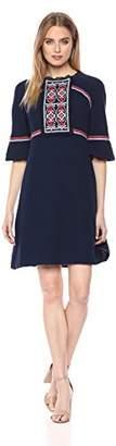 Ella Moon Women's Standard 3/4 Juliette Sleeve Dress