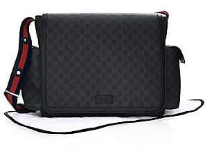 Gucci Women's GG Supreme Diaper Bag