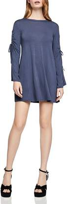 BCBGeneration Drawstring-Sleeve A-Line Dress