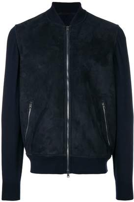 Herno wool sleeves bomber jacket