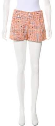 Rag & Bone Boucle-Knit Mid-Rise Shorts