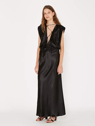 CHRISTOPHER ESBER Laced V-Neck Slip Dress