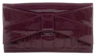 Zac Posen Z Spoke by Patent Leather Clutch