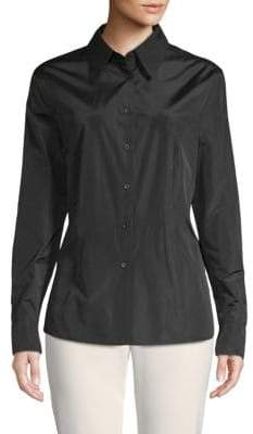Escada Nicolinan Long-Sleeve Button-Down Shirt