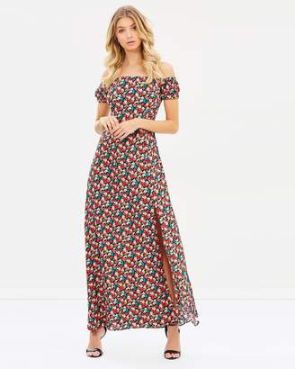 Atmos & Here ICONIC EXCLUSIVE - Azariah Off-Shoulder Maxi Dress