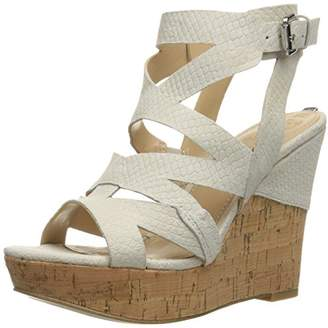 GUESS Women's Hannele Wedge Sandal