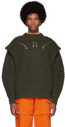 Isabel Marant Green Kentow Sweater