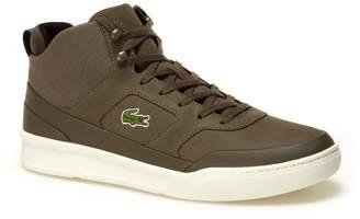 Lacoste Men's Explorateur Sport Mid Leather Sneakers