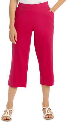 Regatta Stretch Linen Crop Pant