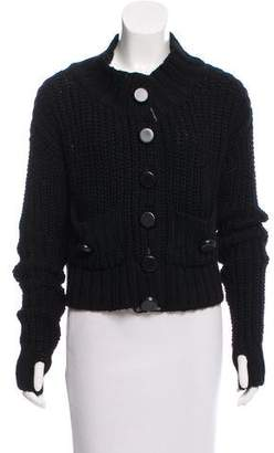 Marc by Marc Jacobs Wool Cable Knit Cardigan