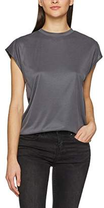 Bench Women's Short Sleeve Rib Tee T-Shirt,(Manufacturer Size:Large) Size: