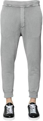 DSQUARED2 Cotton Sweatpants W/ Logo Detail