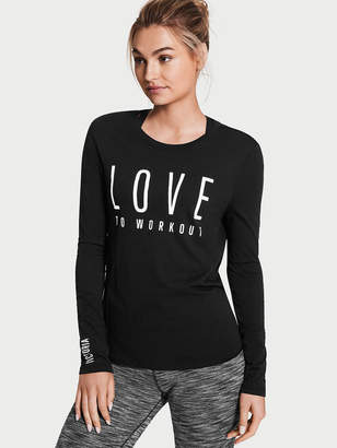 Victoria Sport Open-back Long-sleeve Tee