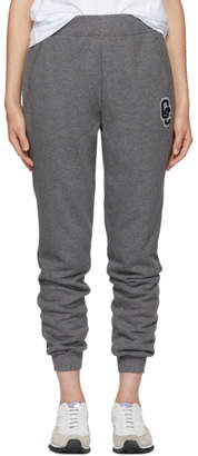 Opening Ceremony SSENSE Exclusive Grey Logo Patch Lounge Pants