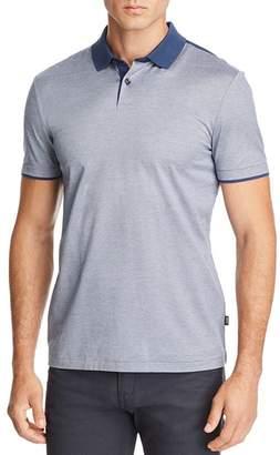 BOSS Pitton Micro-Stripe Polo Shirt