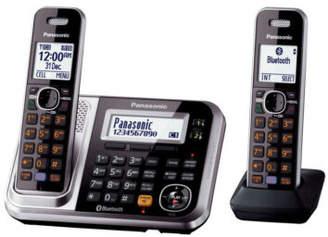 Panasonic KX-TG7892AZS DECT Bluetooth®; Cordless Phone with Answering Machine Twin Pac