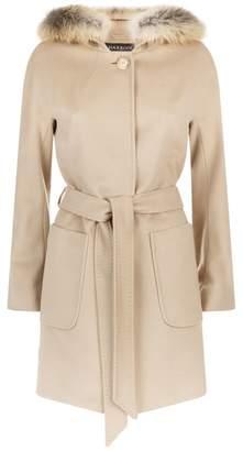 Harrods Fur Lined Coat