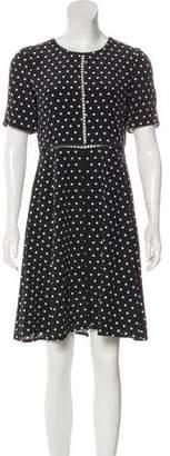 The Kooples Polka Dot Silk Dress w/ Tags