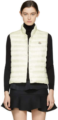 Moncler Off-White Down Liane Vest