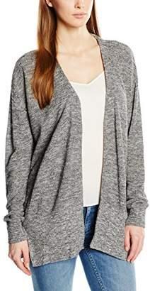 Calvin Klein Jeans Cebu – Plain V Neck Long Sleeve Vest – Women's - Grey