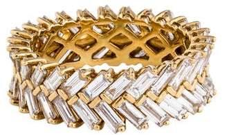 Anita Ko 18K Diamond Zipper Ring