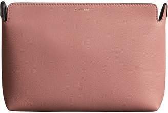 Burberry Medium Tri-tone Leather Clutch