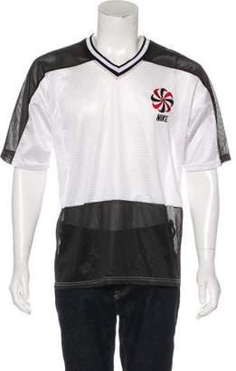 Nike Vintage Mesh Logo Jersey T-Shirt