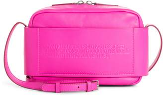 Calvin Klein Belle Leather Camera Bag