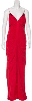 Nicole Miller Sleeveless Silk Gown
