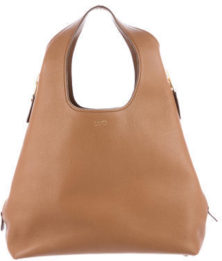 Tom Ford Tom Ford Jennifer Side-Zip Leather Hobo w/ Tags