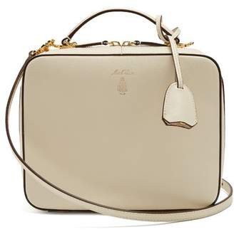 Mark Cross - Laura Saffiano Leather Shoulder Bag - Womens - Ivory